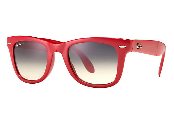 Ray-Ban 0RB4105-WAYFARER FOLDING CLASSIC Red SUN
