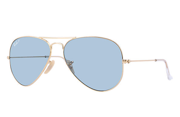 ray ban polarized aviator  ray ban 0rb3025 aviator classic gold sun