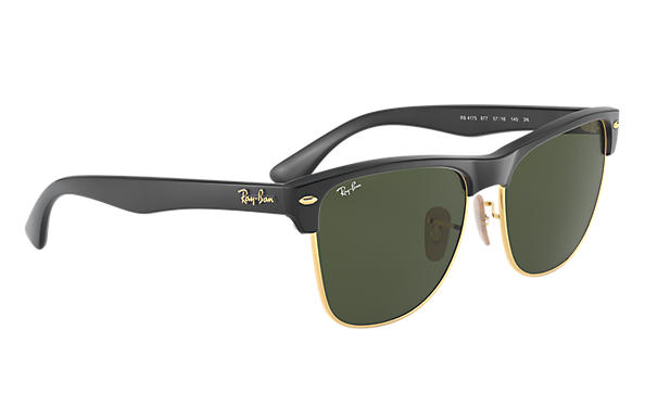 black clubmaster ray bans  Ray-Ban Clubmaster Oversized Black, RB4175