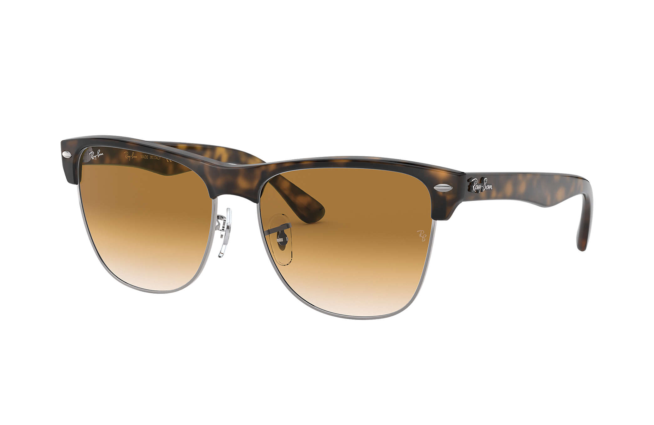 oversized clubmaster  Ray-Ban Clubmaster Oversized Tortoise, RB4175