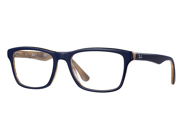 ray ban blue glasses  PDP_META_DATA_EYEGLASSES??? RB5279 Blue,Ivory Acetate