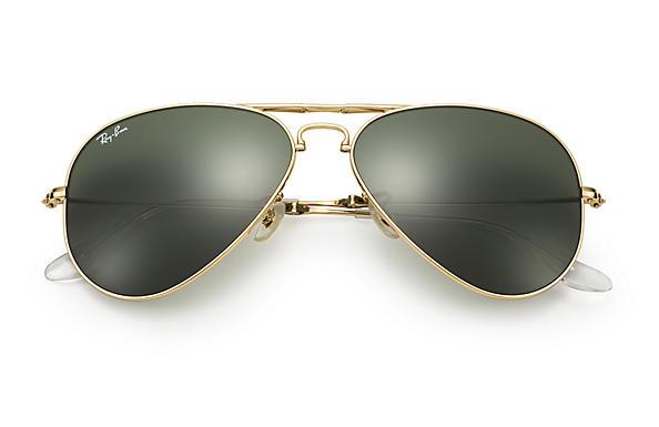 ray ban folding aviator uk  ray ban 0rb3479 aviator folding gold sun
