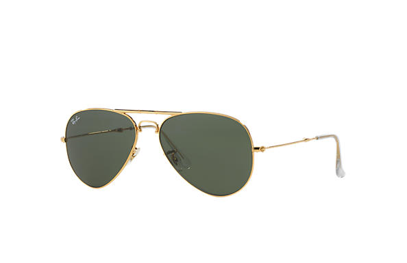 Ray-Ban 0RB3479-AVIATOR FOLDING Gold SUN