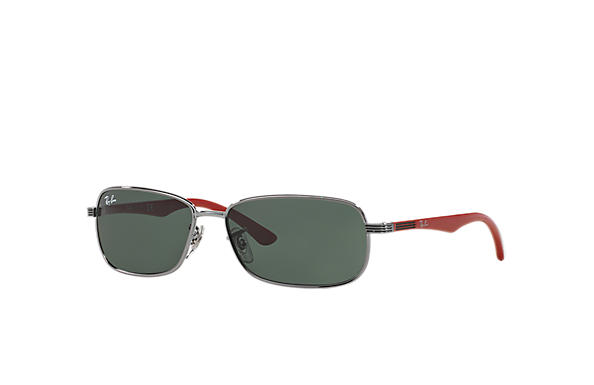 Ray-Ban 0RJ9531S-RJ9531S Gunmetal; Red SUN