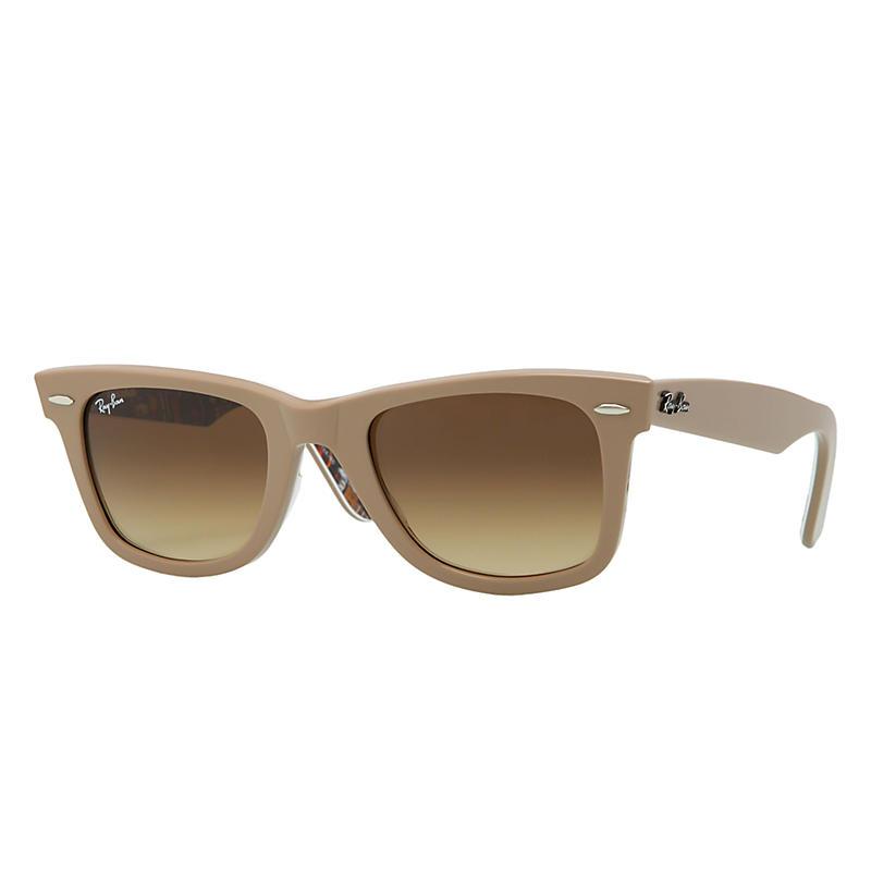 Ray-Ban Original Wayfarer Rare Prints Brown Sunglasses, Brown Sunglasses Lenses - Rb2140