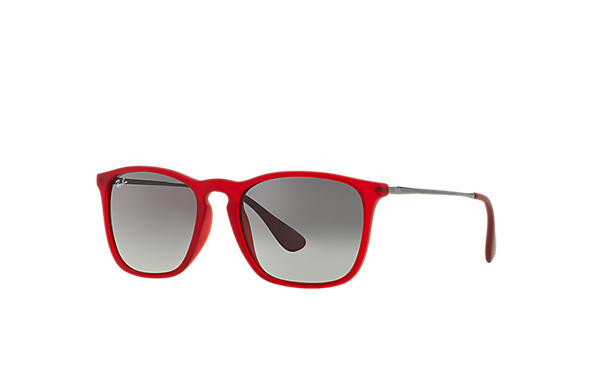ray ban keyhole  ray ban 0rb4187 chris red sun