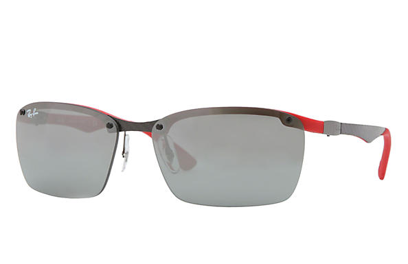 Ray-Ban 0RB8312-RB8312 Grey,Red SUN