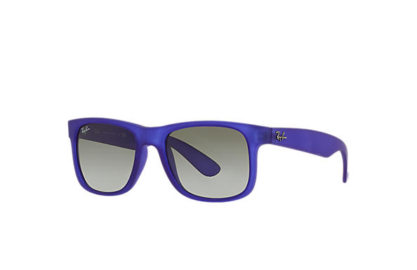 Ray-Ban 0RB4165-JUSTIN COLOR MIX Blue-Violet,Transparent SUN