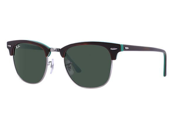 brown ray ban clubmaster  Ray-Ban Clubmaster Color Mix Tortoise,Orange, RB3016