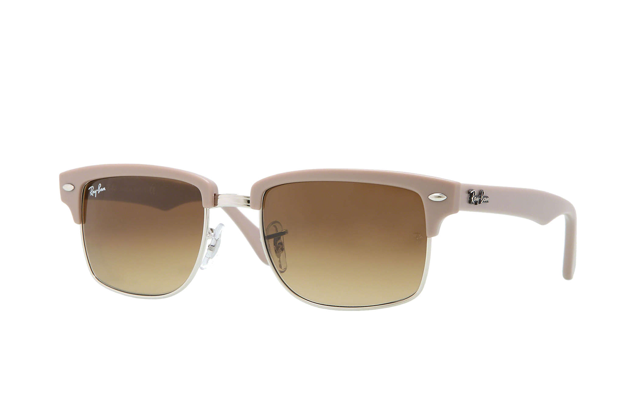 ray ban squared clubmaster  Ray-Ban Clubmaster Square Bronze-Copper, RB4190
