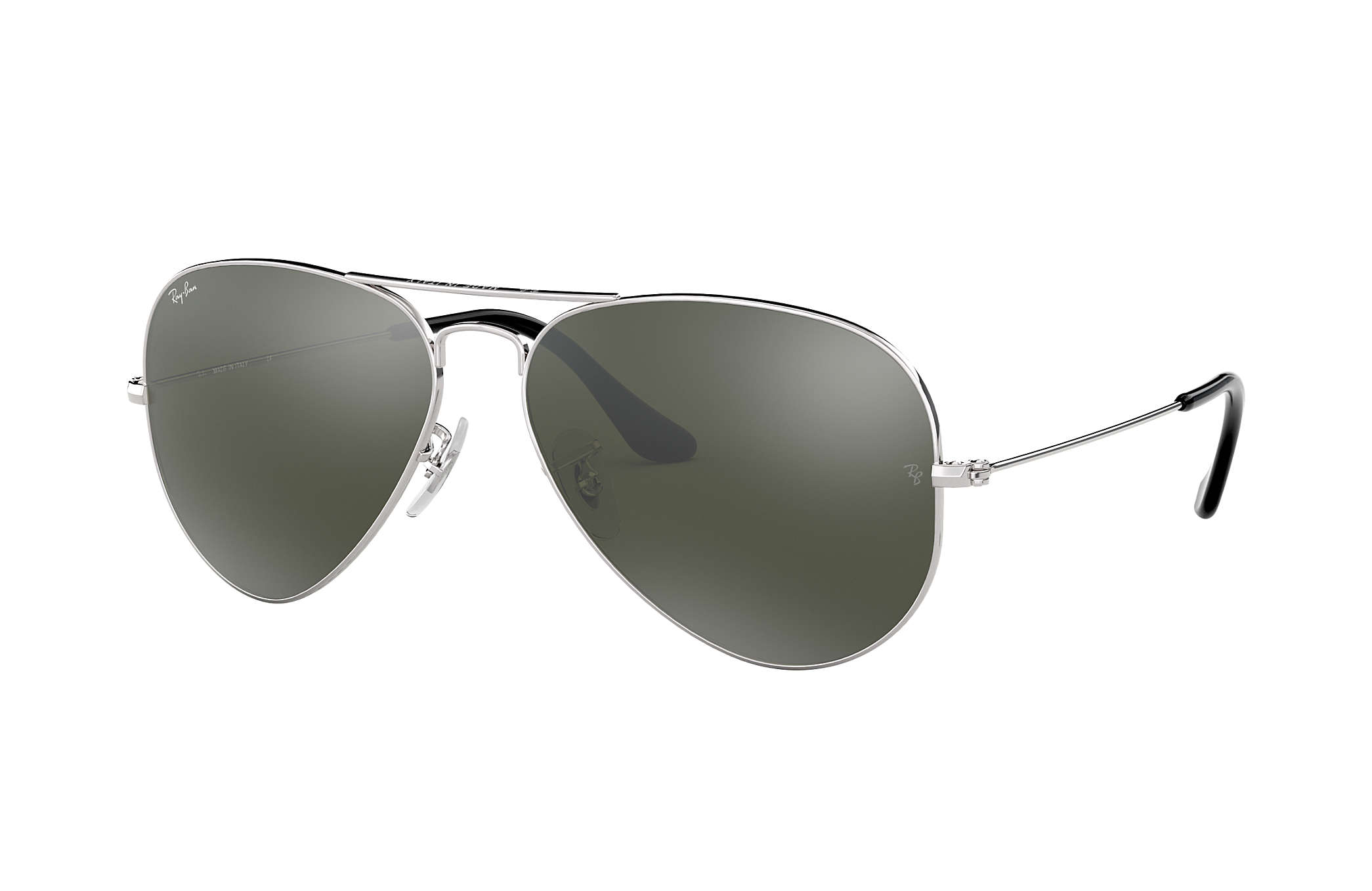 polarized mirrored aviator sunglasses  Ray-Ban Aviator Mirror Silver, RB3025