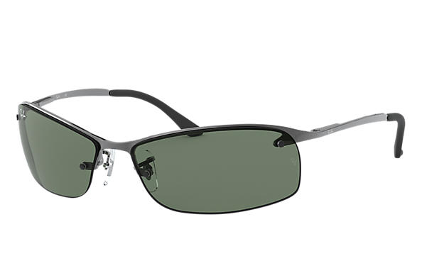Ray-Ban 0RB3183-RB3183 Staalgrijs SUN