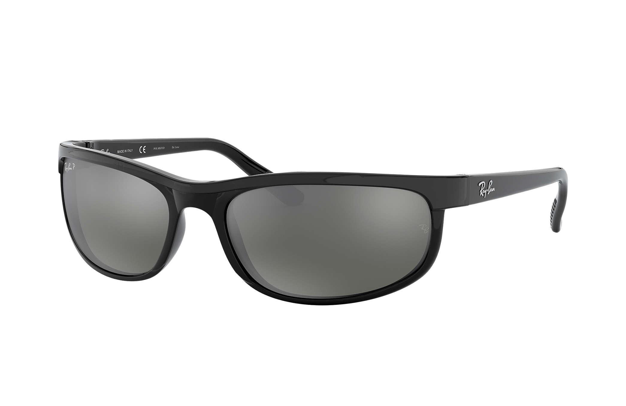 ray ban prix  Ray-Ban Predator 2 Black, Polarized Lenses - RB2027