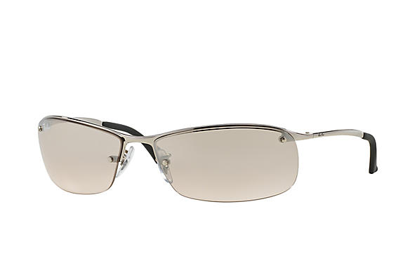 ray ban rb3183 7vnt  Ray-Ban 0RB3183-RB3183 Silver SUN