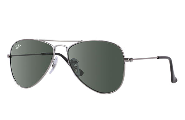 Ray-Ban 0RJ9506S-AVIATOR JUNIOR Gun SUN