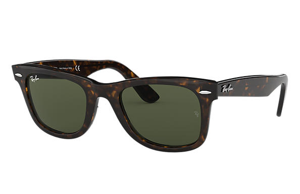 black ray ban wayfarer sunglasses  ORIGINAL WAYFARER CLASSIC Sunglasses Black Acetate, Green Classic ...