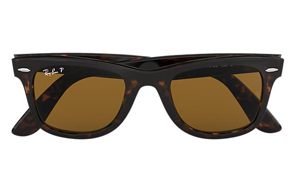 ray bands sun glasses  Ray-Ban Original Wayfarer Classic Tortoise, Polarized Lenses ...