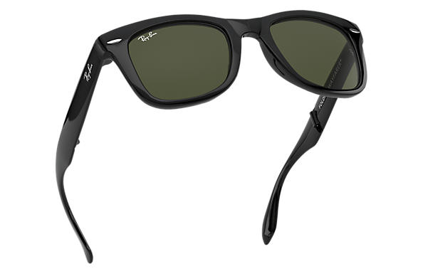wafers sunglasses  Ray-Ban Wayfarer Folding Classic Black, RB4105
