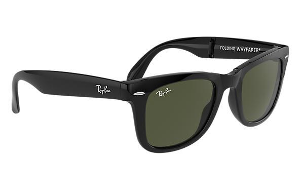 wayfarer classic sunglasses  Ray-Ban Wayfarer Folding Classic Black, RB4105