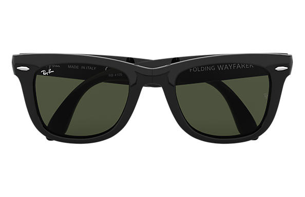 ray ban 4150  Ray-Ban Wayfarer Folding Classic Black, RB4105