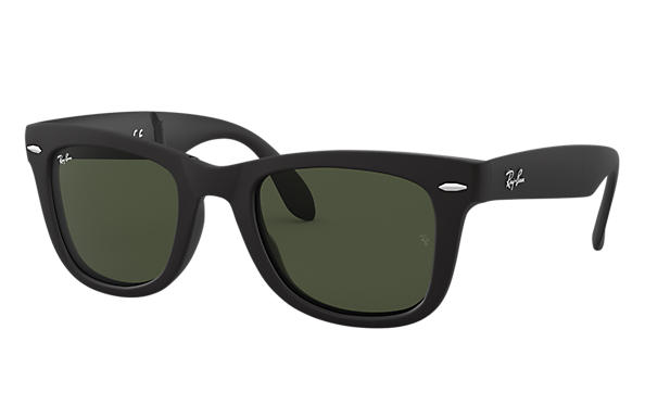 Ray-Ban 0RB4105-WAYFARER FOLDING CLASSIC Black SUN