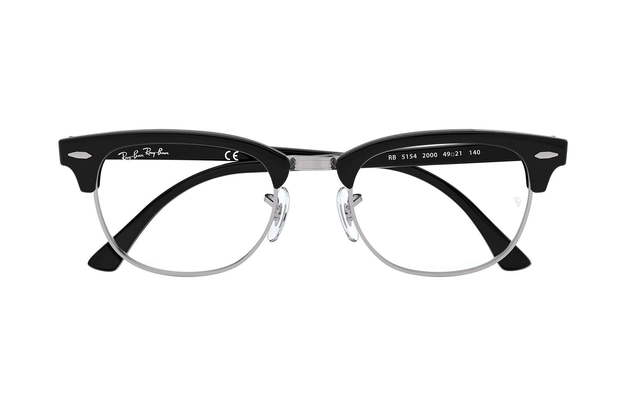 club master glasses  PDP_META_DATA_EYEGLASSES??? RB5154 Black Acetate