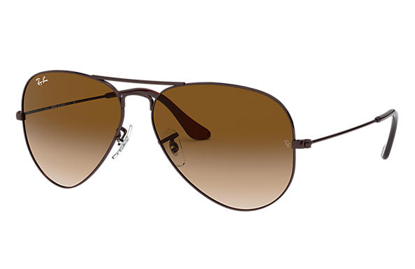 Ray-Ban 0RB3025-AVIATOR GRADIENT Brown SUN