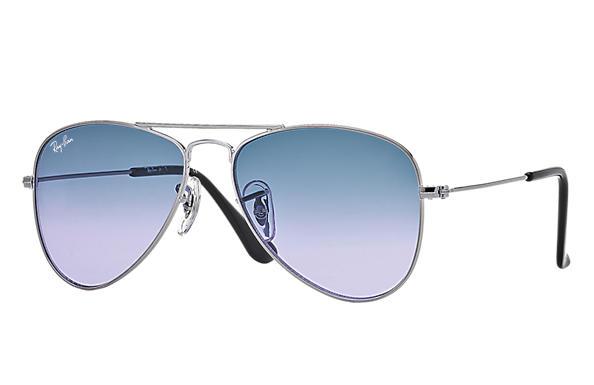 ray ban junior 9506s aviator sunglasses  ray ban 0rj9506s aviator junior gunmetal sun