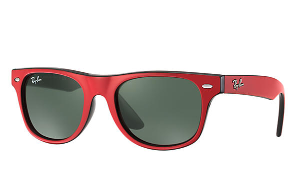 Ray-Ban 0RJ9035S-WAYFARER JUNIOR Rouge,Noir SUN