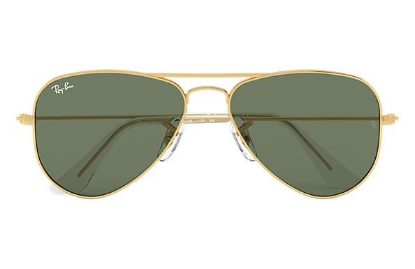 ray ban junior gold rimmed aviator sunglasses  ray ban 0rj9506s aviator junior gold sun