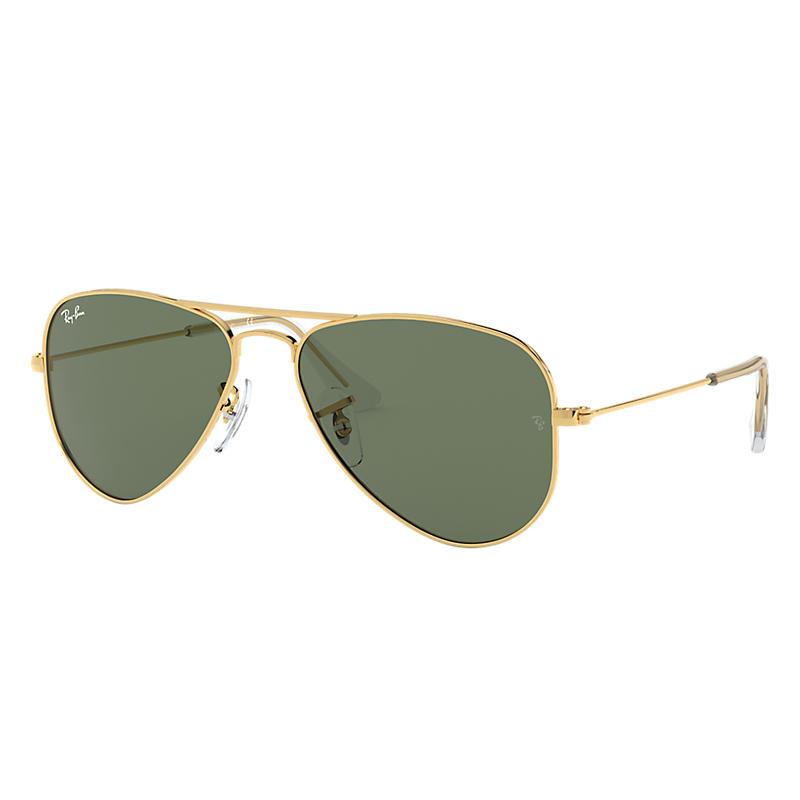 d118856d712 SKU- Ray-Ban Aviator Junior Gold Sunglasses