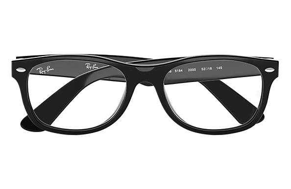 ray ban 5184  Ray-Ban RB5184 Black