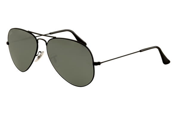 Ray Ban Silver Frame Blue Lens
