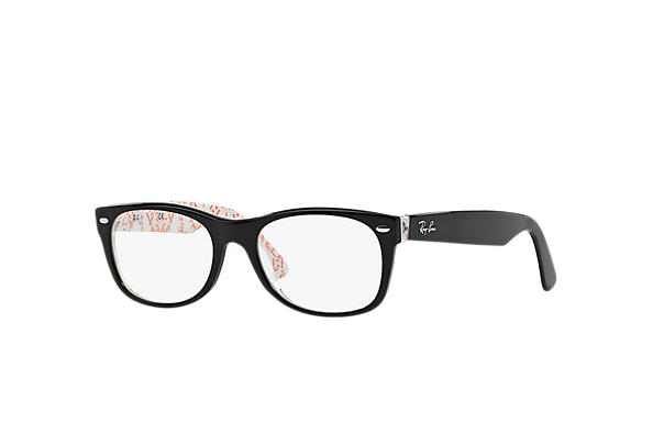ray ban 0rx5184 new wayfarer optics blackmulticolor optical
