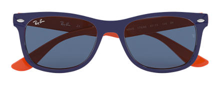Ray-Ban NEW WAYFARER JUNIOR Blue with Blue Classic lens