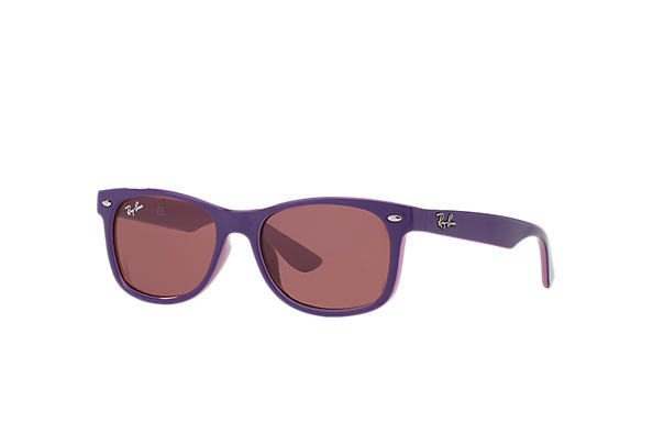 Ray-Ban 0RJ9052S-NEW WAYFARER JUNIOR Violet,Pink SUN