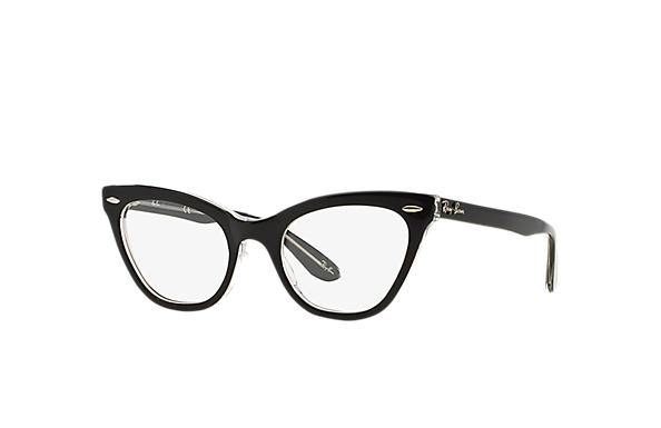 Ray-Ban 0RX5226-RB5226 Black,Transparent OPTICAL