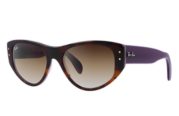ray ban vagabond polarized sunglasses  ray ban 0rb4152 vagabond tortoise; violet sun