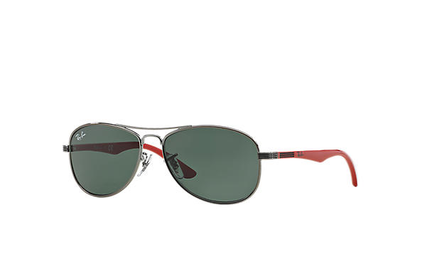 Ray-Ban 0RJ9529S-RJ9529S Gunmetal; Red SUN