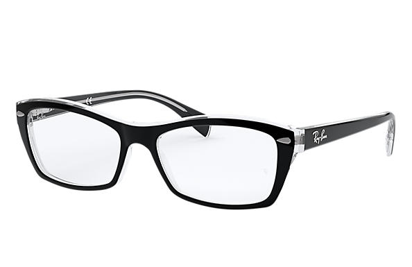 Ray-Ban 0RX5255-RB5255 Black,Transparent OPTICAL
