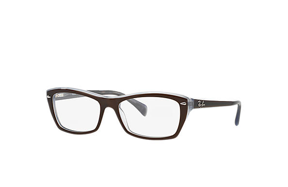 Ray-Ban 0RX5255-RB5255 Brown,Light Blue OPTICAL
