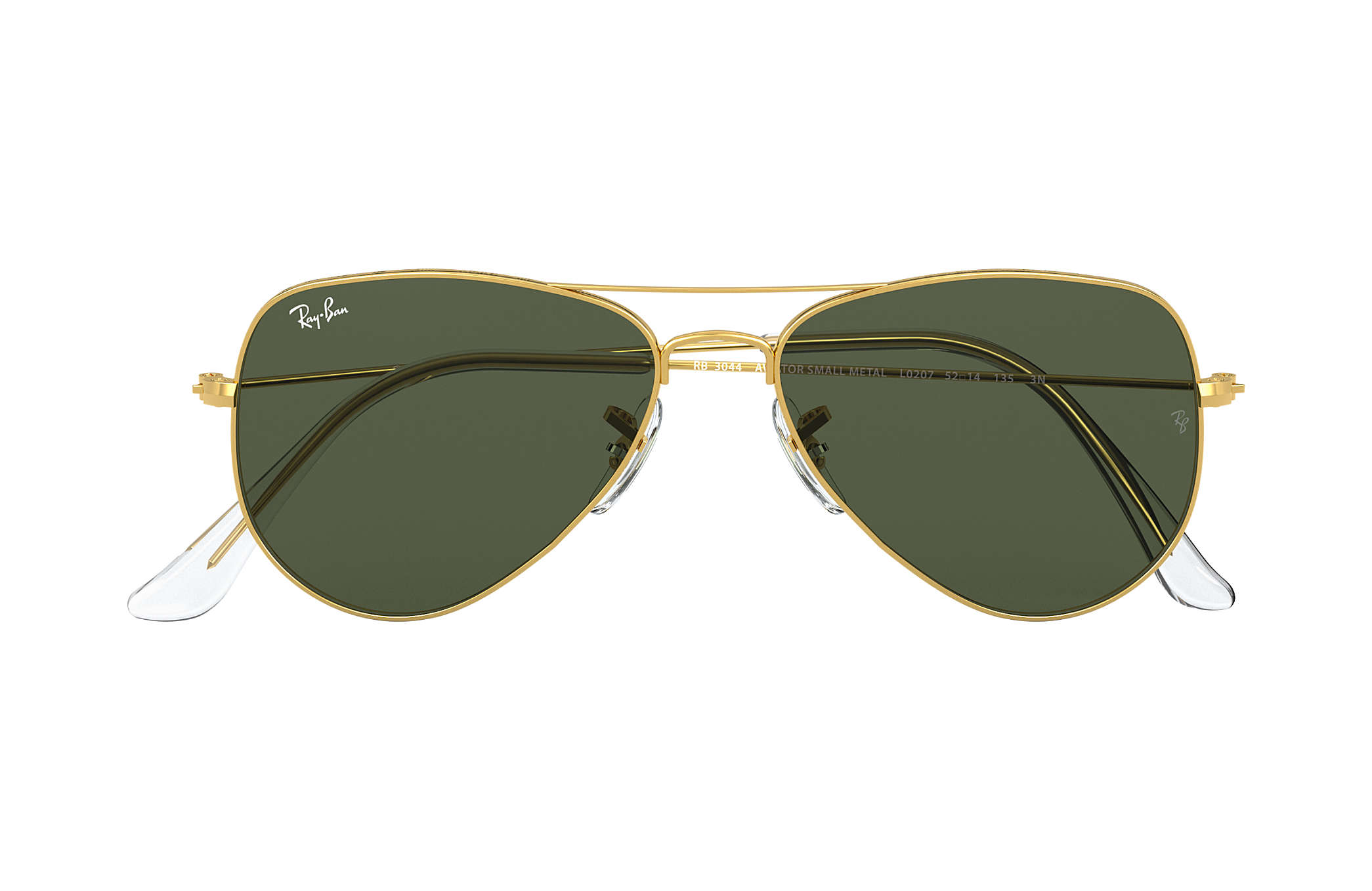 ray ban mens small aviator sunglasses  ray ban 0rb3044 aviator extra small gold sun