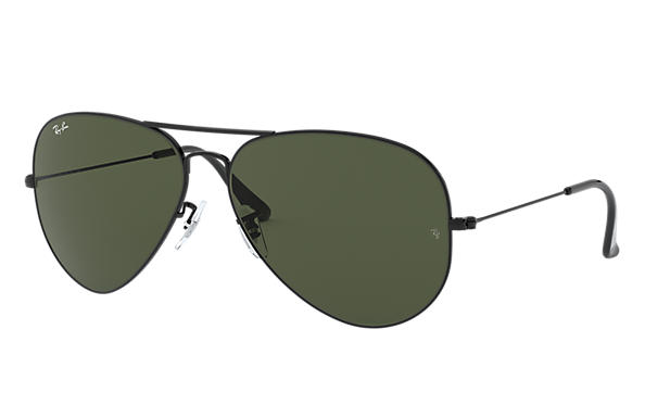 ray ban rb3026 sunglasses  ray ban 0rb3026 aviator large metal ii black sun