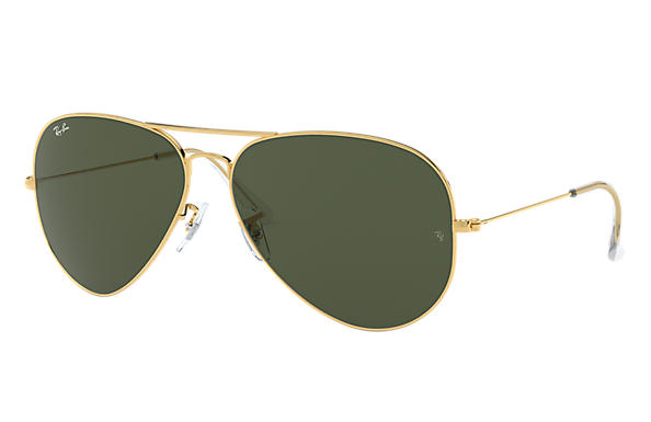 Ray-Ban 0RB3026-AVIATOR LARGE METAL II Gold SUN
