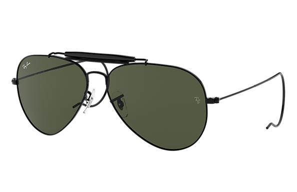 Ray-Ban 0RB3030-OUTDOORSMAN Black SUN
