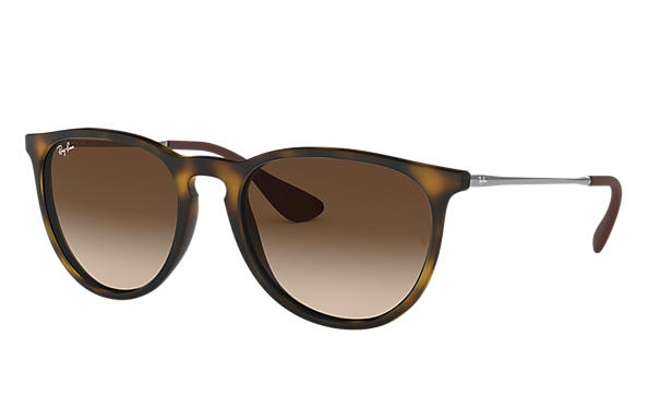 ray ban mens brown sunglasses 0rb4171  ray ban 0rb4171 erika classic tortoise; gunmetal sun