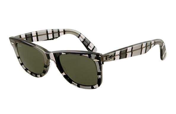 Ray-Ban 0RB2140-ORIGINAL WAYFARER RARE PRINTS Multicolor,Grey SUN
