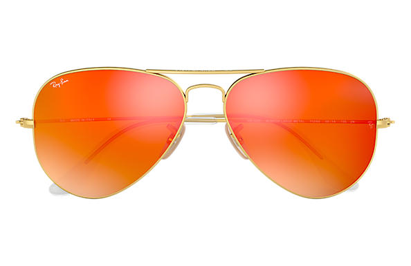 Ray Ban Aviator Verre Orange