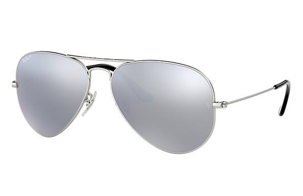 Ray Ban Aviator Silver Mirror