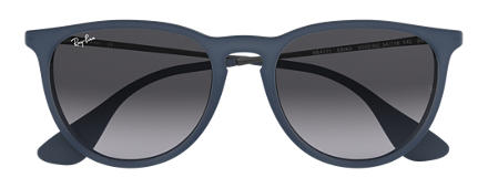 Ray-Ban ERIKA COLOR MIX Blue with Grey Gradient lens